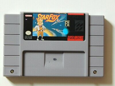 $ CDN35 • Buy Super Nintendo Lot Of 2 Games Pilotwings Starfox Authentic Working SNES