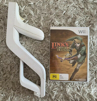 AU21.95 • Buy Links Cross Bow Training And Zapper For Nintendo Wii
