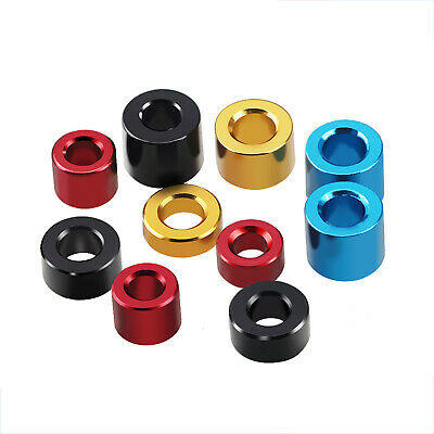 £2.69 • Buy M3 Aluminum Alloy Spacers Standoff Color Round Washers Sleeve Length 1mm~18mm