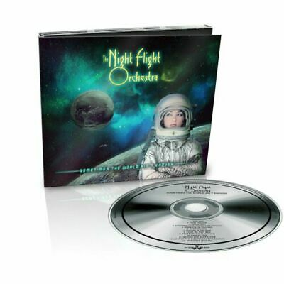 Night Flight Orchestra - Sometimes The World Ain't Enough [New & Sealed] CD • 4.19£