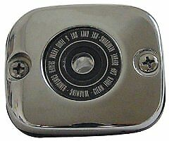 $14.95 • Buy Chrome Front Brake Master Cylinder Cover Harley XL Touring Softail Dyna 96-up