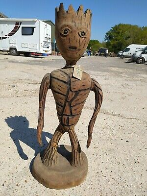 Sale Sussex Chainsaw Wood Carving Groot Home  Garden Rustic Sculpture Decoration • 150£