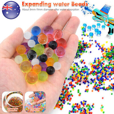 AU8.76 • Buy Orbeez Crystal Soil Water Balls Pearls Jelly Gel Beads Party Activity 9-11mm