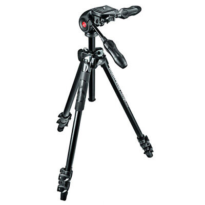 AU208.85 • Buy Manfrotto 290 LIGHT Tripod & 3 Way Head [MANFROTTO WARR]