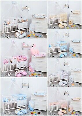 £89.99 • Buy 14 Pcs Soft & Breathable Baby Bedding Set Lots Of Extras Fit Cot 100% Cotton