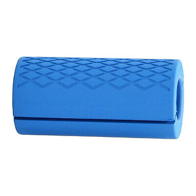 AU13.47 • Buy Thick Fat Barbell Grips Home Gym Arm Wrap Bar Dumbbell Grip For Weight Blue
