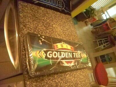 $139 • Buy 1 Golden Tee Live Light Up Marquee Sign With Monting Brackets