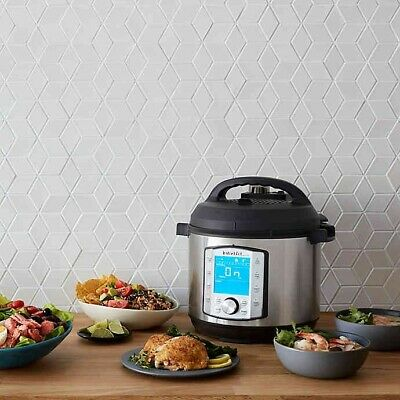 $128.73 • Buy Instant Pot 10-in-1 Duo Evo 6 Qt. Plus Programmable Electric Pressure Cooker