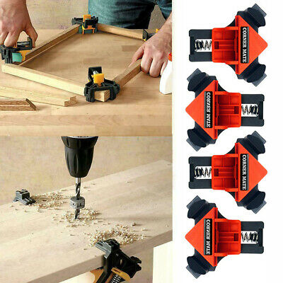 $15.88 • Buy 4PCS Carpenter 90° Degree Right Angle Corner Clip Clamp Woodworking Tool D3Z2