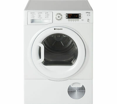 £319.99 • Buy HOTPOINT Ultima S-Line SUTCD97B6PM Condenser Tumble Dryer - White - Currys