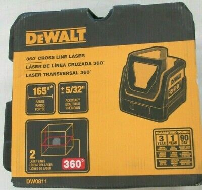 $182.77 • Buy Brand New DEWALT DW0811 Line Laser, Self Leveling, 360 Degree And Vertical Line