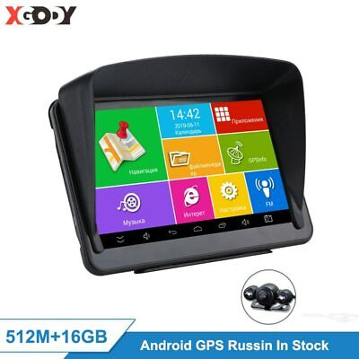 AU144.07 • Buy XGODY Android 7'' Car GPS Navigation Tablet PC 16GB WiFi Auto GPS Car Navigator