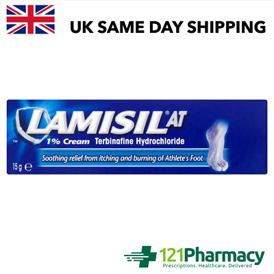£5.70 • Buy Lamisil At 1% Cream 15g -   Athlete's Foot   Ringworm   Jock Itch   Soothing  