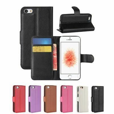 $ CDN8.99 • Buy Wallet Card Holder Flip Stand Case Cover For IPhone SE (2nd Gen) / IPhone 7 / 8
