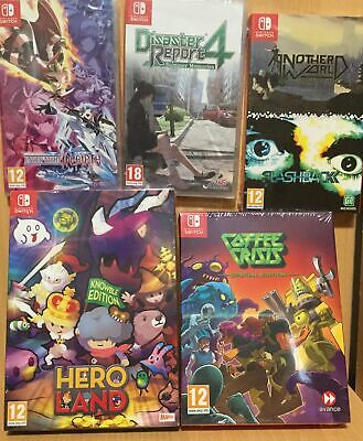 AU81.40 • Buy 17 18 Brand New Nintendo Switch Games - Plays On ALL Switch Consoles Worldwide