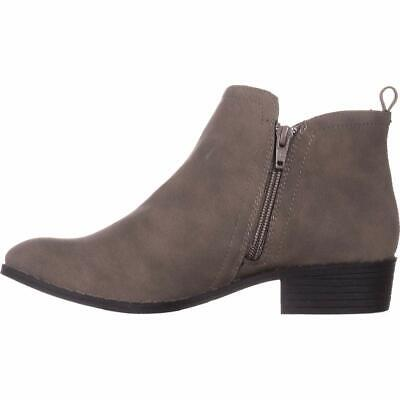 $12 • Buy American Rag Womens Cadee Round Toe Ankle Fashion Boots, Charcoal, Size 7.0 SGEb