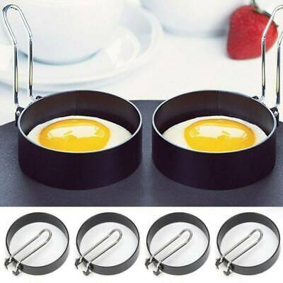 $2.27 • Buy Non Stick Fried Egg Shaper Stainless Steel Pancake Ring Mold Cooking Home Tool