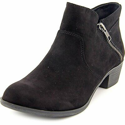 $12 • Buy American Rag Womens Abby Almond Toe Ankle Fashion Boots, Black, Size 9.0 2PKw