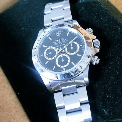 $ CDN122378.49 • Buy Rolex Daytona 16520 Zenith Floating Transition Full Set B&P + Rolex Serviced