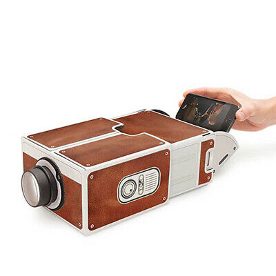 Smartphone Projector DIY Mobile Phone Portable Cinema For IPhone Samsung D9J9 • 12.05£