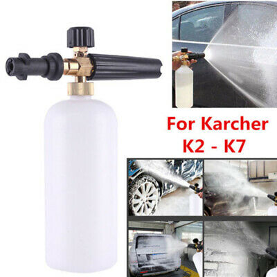 £17.94 • Buy 1pc Car Washer Foam Lance Cannon Pressure For Karcher K2 - K7 Snow Accessories