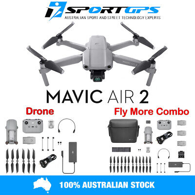AU1899 • Buy DJI MAVIC AIR 2 | DRONE *OR* FLY MORE COMBO Options ***IN STOCK*** Ships Today