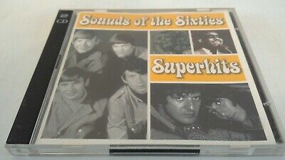 Sounds Of The Sixties - Superhits - EU 2004 Time Life TL SCC/01 Double CD Album  • 5.99£