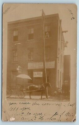 $33.59 • Buy Postcard WV Parkersburg Wood County Area Gold Medal Flour Mill Store RPPC U8
