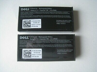 $14.99 • Buy LOT 2 GENUINE DELL NU209 0NU209 R710 PERC 5i 6i H700 RAID BATTERY