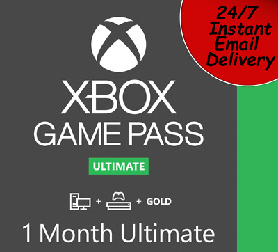 $ CDN9.56 • Buy 🔥 Xbox Live 1 Month Game Pass And Gold (28 Days) Delivered Within 5 Minutes