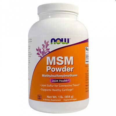 AU28.32 • Buy Now Foods, MSM Powder, 1 Lb (454 G)