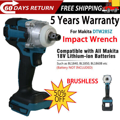 Replaces For Makita 18V 520Nm Cordless Brushless Torque Impact Wrench 1/2  Body • 49.90£