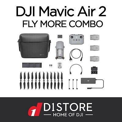 AU1869 • Buy Brand New Mavic Air 2 Fly More Combo In Stock Now Shipping Today!!!!