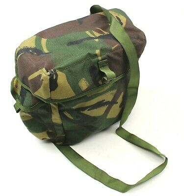 £10.30 • Buy BRITISH ARMY S10 GAS MASK BAG In DPM WOODLAND CAMO UNISSUED