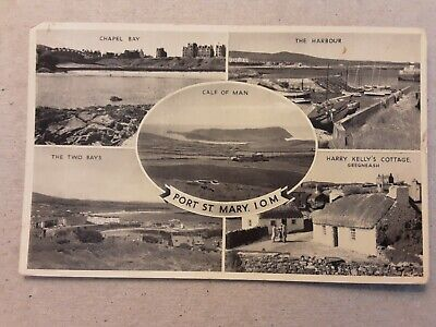 £3 • Buy Postcard Port St Mary Isle Of Man Multiview
