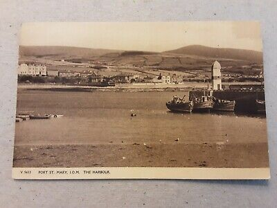 £5 • Buy Postcard Port St Mary The Harbour Isle Of Man