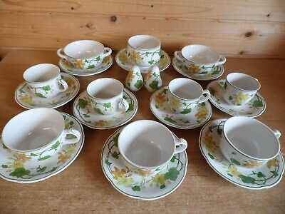 Villeroy And Boch  Geranium  Tableware Sold Individually With Multibuy Discounts • 14.95£