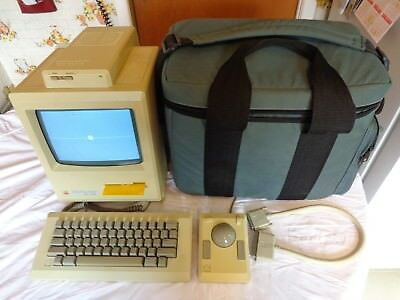 $499.99 • Buy Apple Macintosh Plus M0001a One Plus One Supermac + Keyboard, Mouse,carry Bag