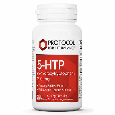 $ CDN40.27 • Buy Protocol For Life Balance - 5-HTP (5-hydroxytryptophan) 200 Mg - 60 Veg Capsules