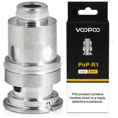 VOOPOO PnP COILS For The VINCI Kit, VM1 0.3ohm, M1 0.45ohm, R1 0.8ohm • 13.95£