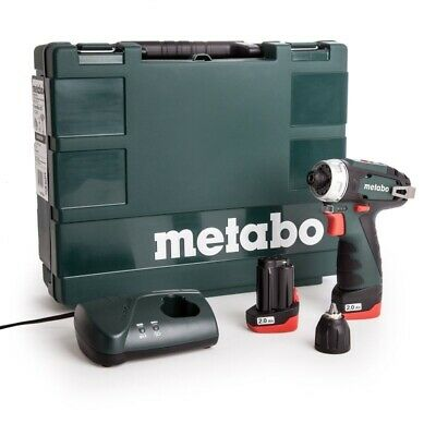 Metabo 600080500 10.8 V Powermaxx BS Drill Driver With 2 X 2 A Batteries - • 116.99£