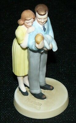 $ CDN14 • Buy Gorham Norman Rockwell Figurine New Arrival Limited Edition MA Life Insurance