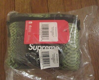$ CDN285.58 • Buy Supreme The North Face Snakeskin Flyweight Duffle Bag Green SS18 DS Brand New