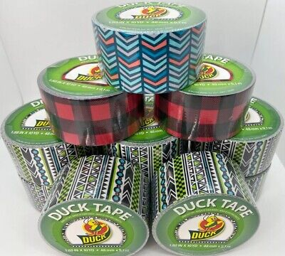 $74.67 • Buy NEW -Lot Of 11 DUCK - Duct Tape Rolls Colors Patterns Designs Craft Supplies