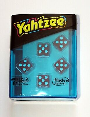 AU18.41 • Buy Yahtzee Travel Game - Neon Dice In A Plastic Case