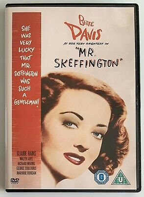 Mr Skeffington (DVD, 2005) Classic 1940's Drama Film, Region 2 • 3.99£