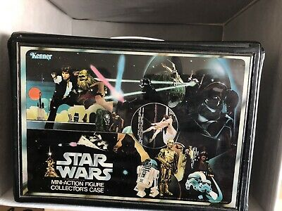 $ CDN60 • Buy Vintage Kenner Star Wars 1977 Vinyl Figure Carrying Case