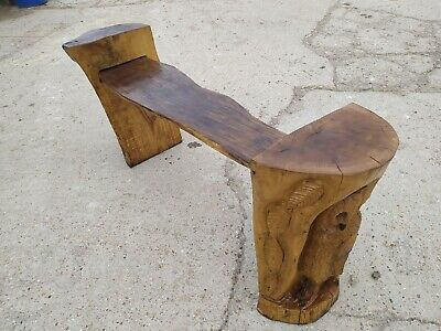 £400 • Buy Sale Great Christmas Gift  Sussex Chainsaw Wood Carving Oak Owl Bench Garden