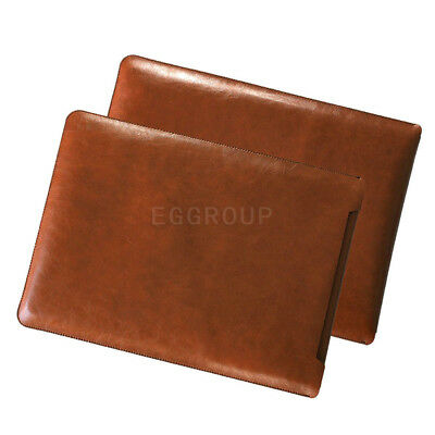 AU25.12 • Buy Fr 13  13.3  Laptop Tablet Dark Brown Universal PU Leather Sleeve Bag Cover Case