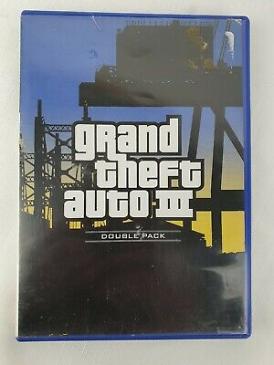 AU8.50 • Buy Grand Theft Auto III Double Pack PS2 Playstation 2 Game